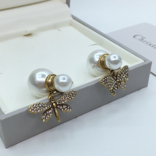 Christian Dior Earrings #839165 $32.00, Wholesale Replica Christian Dior Earrings
