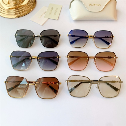 Replica Valentino AAA Quality Sunglasses #839174 $48.00 USD for Wholesale