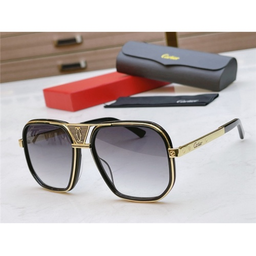Cartier AAA Quality Sunglasses #839211