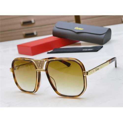 Cartier AAA Quality Sunglasses #839214