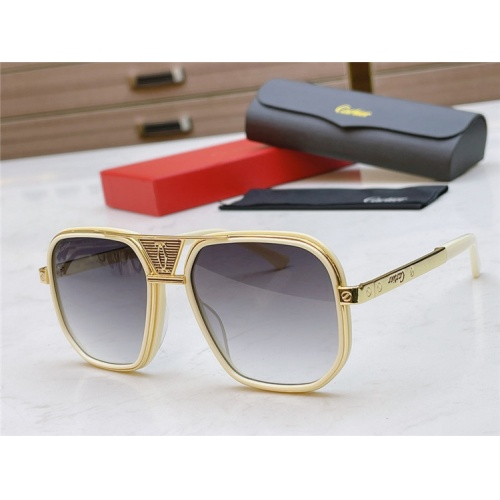 Cartier AAA Quality Sunglasses #839215
