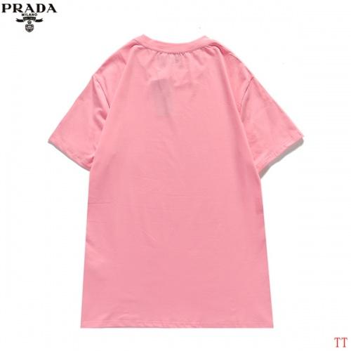 Replica Prada T-Shirts Short Sleeved For Men #839254 $27.00 USD for Wholesale