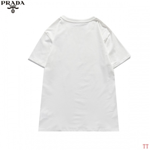 Replica Prada T-Shirts Short Sleeved For Men #839256 $27.00 USD for Wholesale
