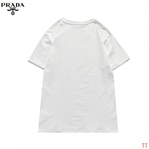 Replica Prada T-Shirts Short Sleeved For Men #839257 $29.00 USD for Wholesale