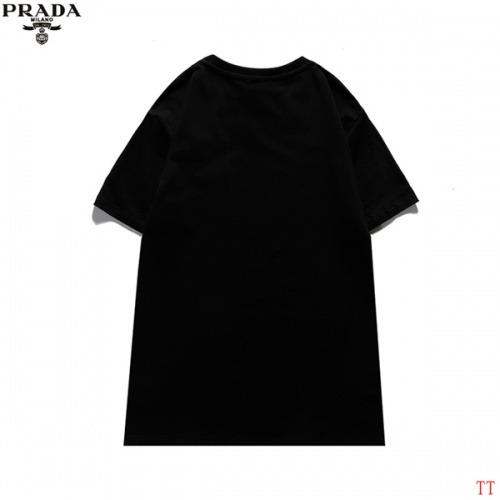 Replica Prada T-Shirts Short Sleeved For Men #839258 $29.00 USD for Wholesale
