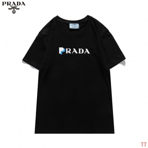 Prada T-Shirts Short Sleeved For Men #839259 $29.00 USD, Wholesale Replica Prada T-Shirts
