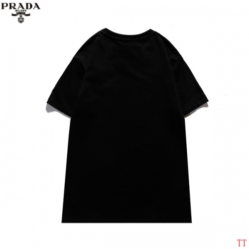 Replica Prada T-Shirts Short Sleeved For Men #839259 $29.00 USD for Wholesale