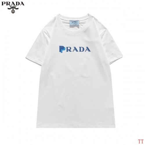Prada T-Shirts Short Sleeved For Men #839260