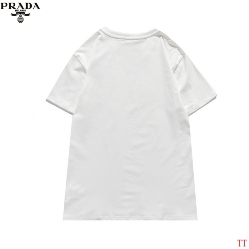 Replica Prada T-Shirts Short Sleeved For Men #839260 $29.00 USD for Wholesale
