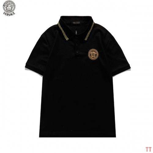 Versace T-Shirts Short Sleeved For Men #839261