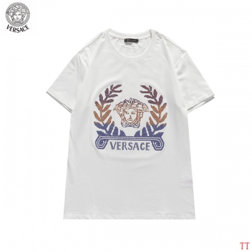Versace T-Shirts Short Sleeved For Men #839266 $27.00, Wholesale Replica Versace T-Shirts