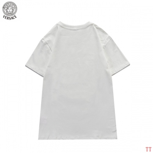 Replica Versace T-Shirts Short Sleeved For Men #839266 $27.00 USD for Wholesale