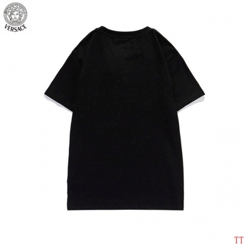 Replica Versace T-Shirts Short Sleeved For Men #839267 $27.00 USD for Wholesale