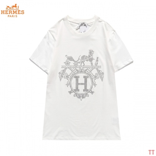 Hermes T-Shirts Short Sleeved For Men #839282