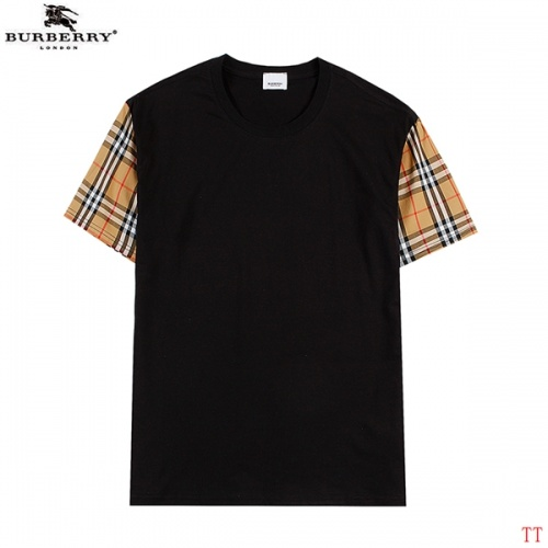 Burberry T-Shirts Short Sleeved For Men #839289 $27.00, Wholesale Replica Burberry T-Shirts