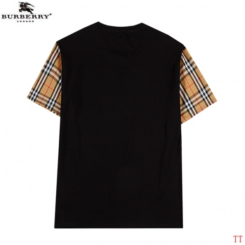 Replica Burberry T-Shirts Short Sleeved For Men #839289 $27.00 USD for Wholesale