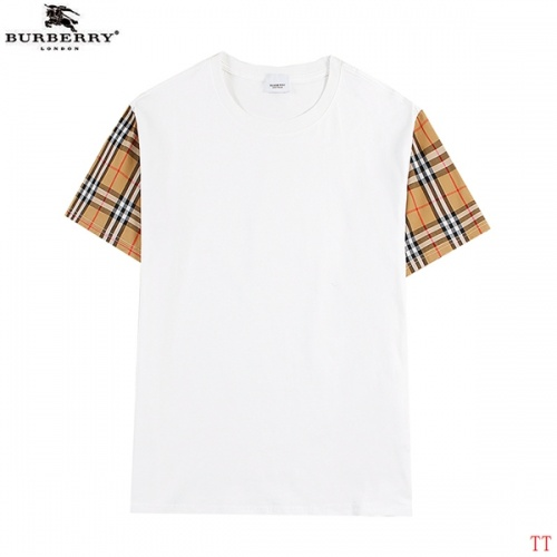 Burberry T-Shirts Short Sleeved For Men #839290 $27.00 USD, Wholesale Replica Burberry T-Shirts