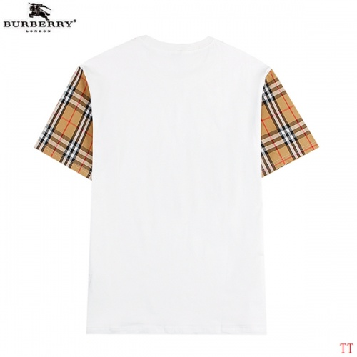 Replica Burberry T-Shirts Short Sleeved For Men #839290 $27.00 USD for Wholesale