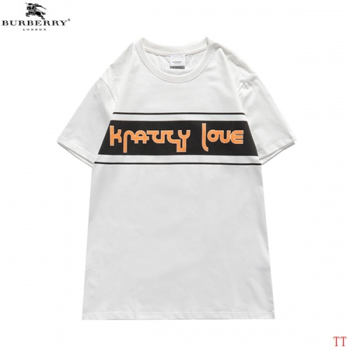 Burberry T-Shirts Short Sleeved For Men #839297 $27.00 USD, Wholesale Replica Burberry T-Shirts