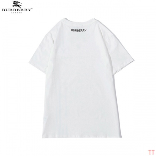 Replica Burberry T-Shirts Short Sleeved For Men #839297 $27.00 USD for Wholesale