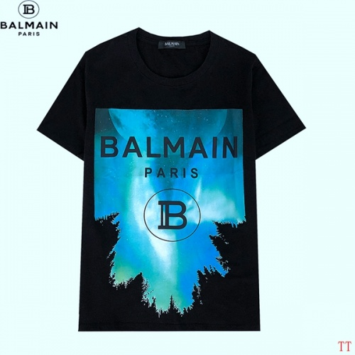 Balmain T-Shirts Short Sleeved For Men #839301