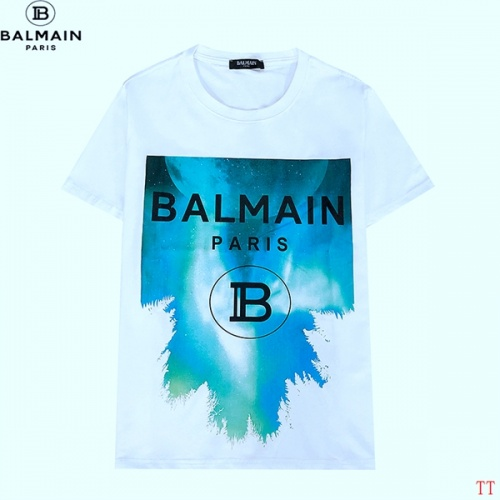 Balmain T-Shirts Short Sleeved For Men #839302