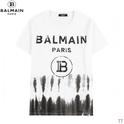 Balmain T-Shirts Short Sleeved For Men #839305