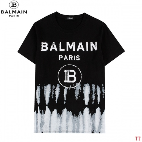 Balmain T-Shirts Short Sleeved For Men #839306
