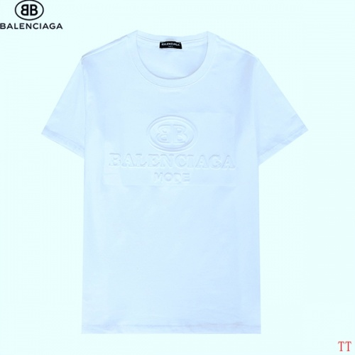 Balenciaga T-Shirts Short Sleeved For Men #839311 $27.00, Wholesale Replica Balenciaga T-Shirts