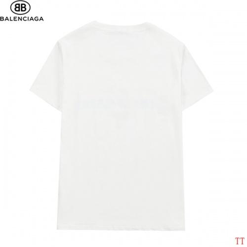 Replica Balenciaga T-Shirts Short Sleeved For Men #839311 $27.00 USD for Wholesale