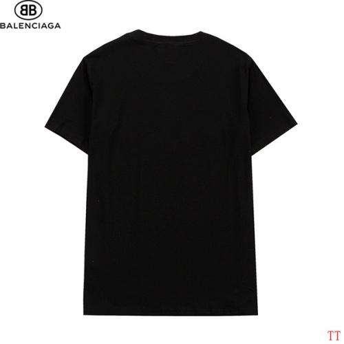 Replica Balenciaga T-Shirts Short Sleeved For Men #839312 $27.00 USD for Wholesale