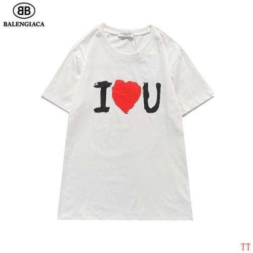 Balenciaga T-Shirts Short Sleeved For Men #839316