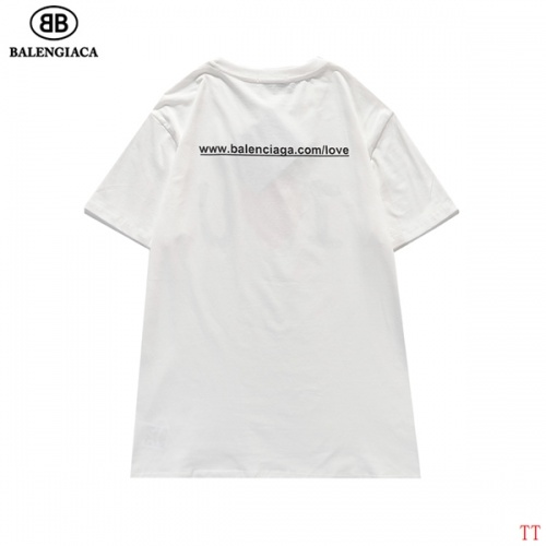 Replica Balenciaga T-Shirts Short Sleeved For Men #839316 $27.00 USD for Wholesale