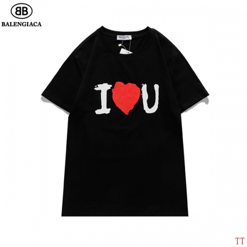 Balenciaga T-Shirts Short Sleeved For Men #839317 $27.00, Wholesale Replica Balenciaga T-Shirts