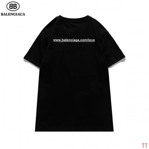 Replica Balenciaga T-Shirts Short Sleeved For Men #839317 $27.00 USD for Wholesale