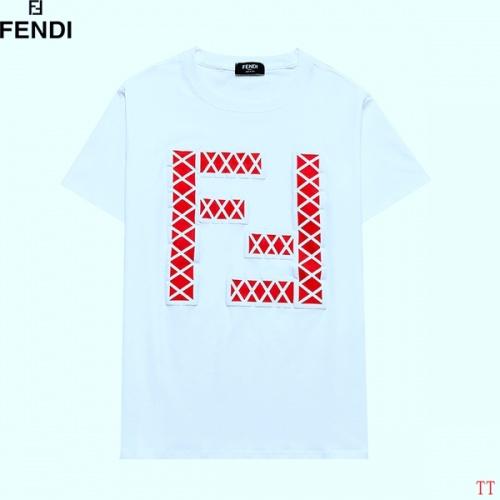 Fendi T-Shirts Short Sleeved For Men #839343