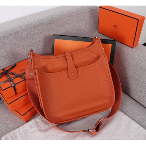 Replica Hermes AAA Quality Messenger Bags For Women #839386 $128.00 USD for Wholesale