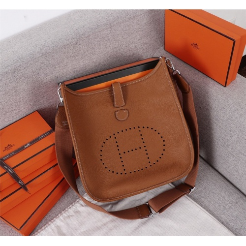 Hermes AAA Quality Messenger Bags For Women #839387 $128.00, Wholesale Replica Hermes AAA Quality Messenger Bags