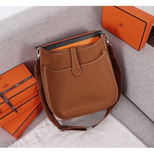 Replica Hermes AAA Quality Messenger Bags For Women #839387 $128.00 USD for Wholesale