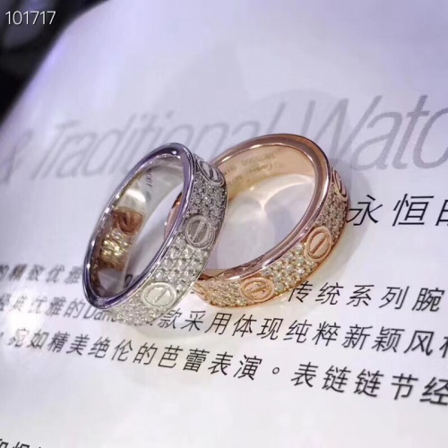 Replica Cartier Rings #839396 $32.00 USD for Wholesale