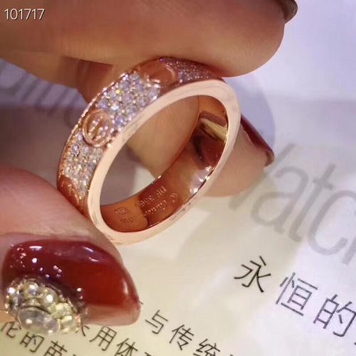 Replica Cartier Rings #839397 $32.00 USD for Wholesale