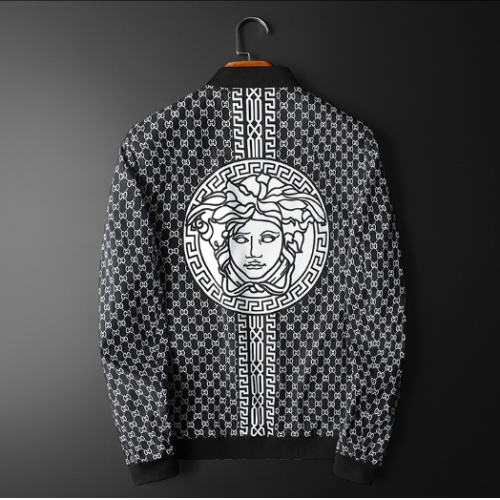 Versace Jackets Long Sleeved For Men #839406