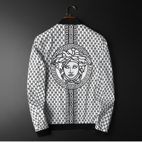 Versace Jackets Long Sleeved For Men #839407