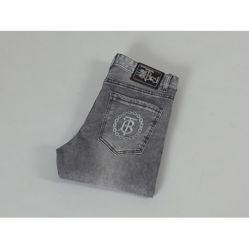 Replica Burberry Jeans For Men #839421 $48.00 USD for Wholesale