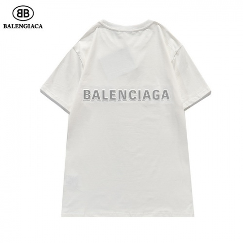 Balenciaga T-Shirts Short Sleeved For Men #839430 $27.00, Wholesale Replica Balenciaga T-Shirts