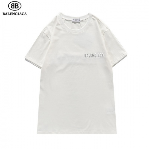 Replica Balenciaga T-Shirts Short Sleeved For Men #839430 $27.00 USD for Wholesale
