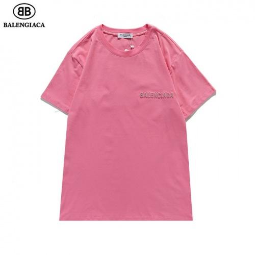 Replica Balenciaga T-Shirts Short Sleeved For Men #839431 $27.00 USD for Wholesale