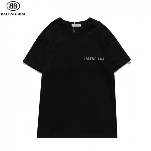 Replica Balenciaga T-Shirts Short Sleeved For Men #839432 $27.00 USD for Wholesale