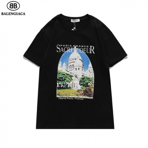 Balenciaga T-Shirts Short Sleeved For Men #839433