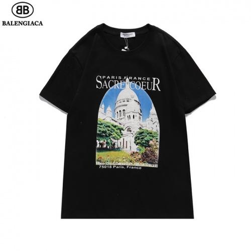 Balenciaga T-Shirts Short Sleeved For Men #839433 $27.00, Wholesale Replica Balenciaga T-Shirts